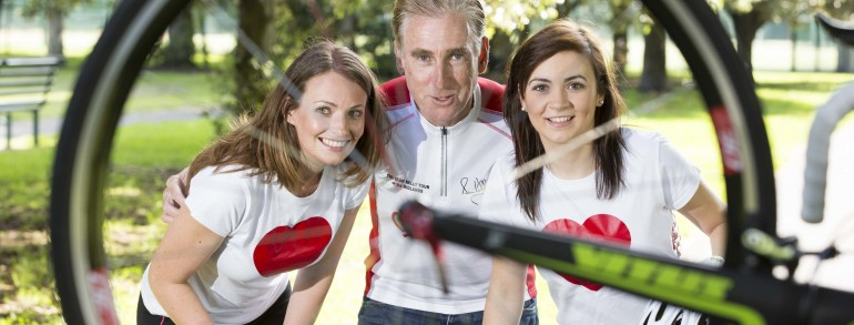 Irish Heart Foundation Tour Of The Midlands with Sean Kelly