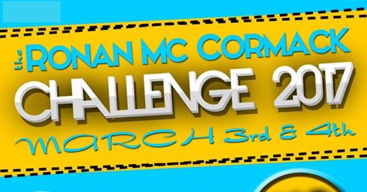 The Ronan McCormack Charity Challenge