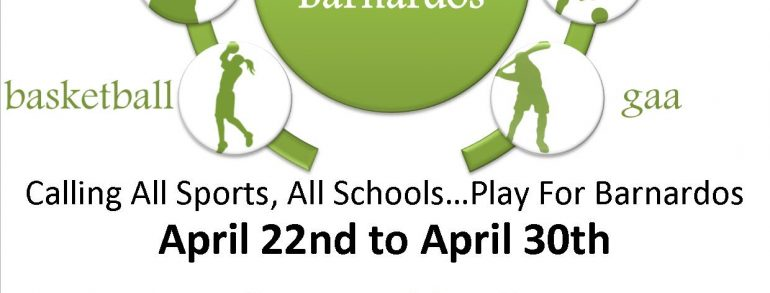 Play for Barnados Sports