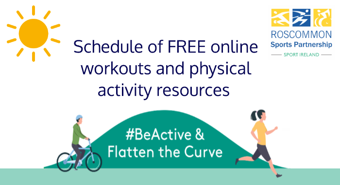Schedule of FREE Online Classes and Activities